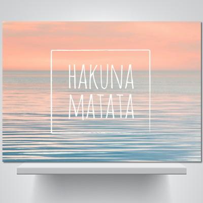 하쿠나 마타타(a) - 감성사진 폼보드 액자