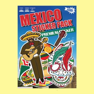 스티커붐 멕시코 테마 스티커 -캐리어스티커