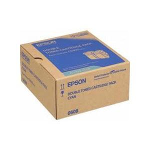 엡손(EPSON) 토너 C13S050608 (Double Pack) / Cyan / AcuLaser C9300N Toner / ( 7.5K*2 )