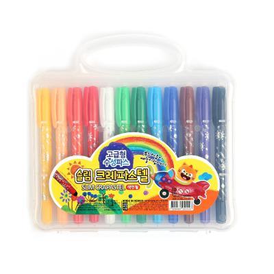 슬림크레파스텔 색연필12색