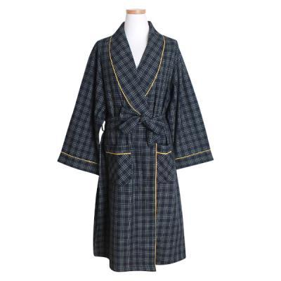 [쿠비카]에센셜 선염면 여성가운 잠옷 W418