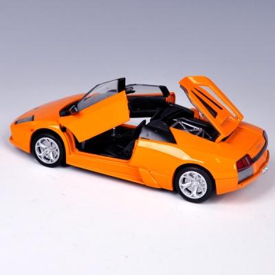 [모터맥스]1:24 람보르기니 무르시엘라고 로드스터(메탈릭 오렌지) (73316)모형자동차/다이캐스트