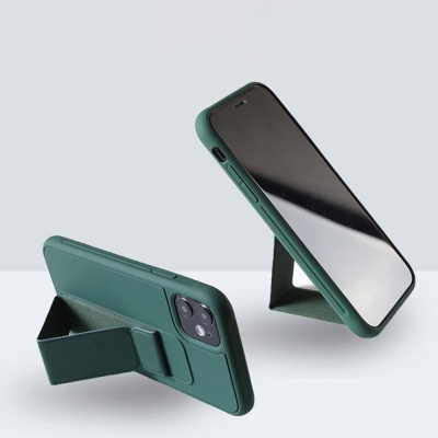 아이폰XR XS MAX X 핸드 스트랩 브래킷 실리콘 케이스