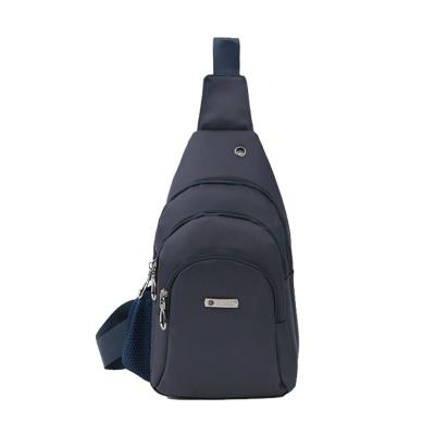 여행용 물병포켓 보조 가방 데일리 패션 슬링백 navy
