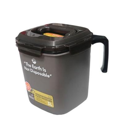 음식물 쓰레기통 거름망 잔반통 짬통 음식물통 3L
