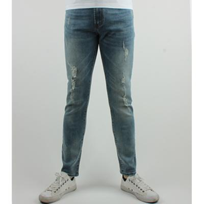 [ARSON] #14049 SLIM STRAIGHT JEANS (BLUE)