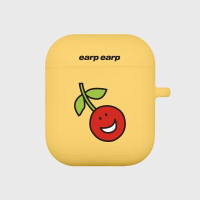 Smile cherry-yellow(Air Pods)