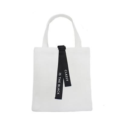 데일리 에코백 캔버스 숄더백 도트백 가방 투밴드