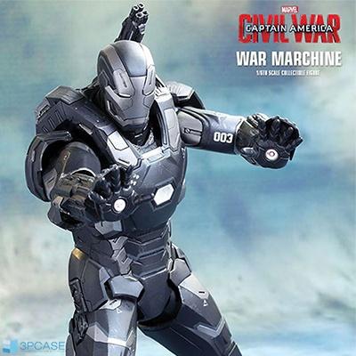 워 머신 마크 3(War Machine Mark 3) 다이캐스트 / 캡틴 아메리카 시빌워