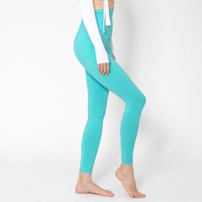 여성 트레이닝복 포켓 요가레깅스 DFW4023 스카이