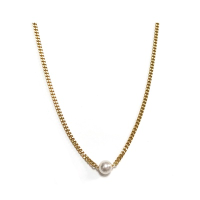 basic peal necklace_025_silver