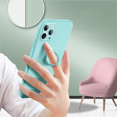 아이폰11 pro max 카메라보호 스마트링 실리콘 케이스