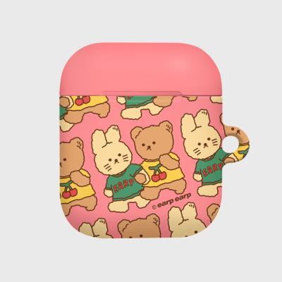 nini friends-pink(Hard air pods)