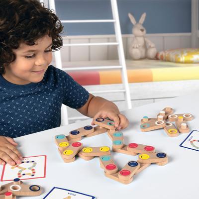 이매지네이션 링크 / 3세이상 원목도형퍼즐