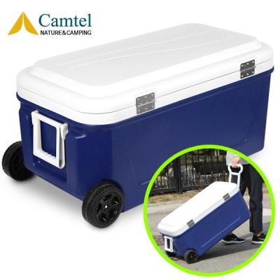 [캠텔] ST8000 80리터 대용량 캠핑 낚시용 쿨러 블루