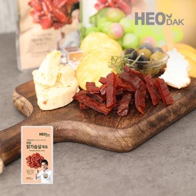 [허닭] 닭가슴살 육포 오리지날 30g
