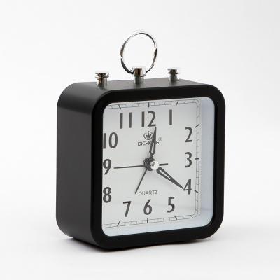 퀴리 사각형 알람 탁상시계(블랙)
