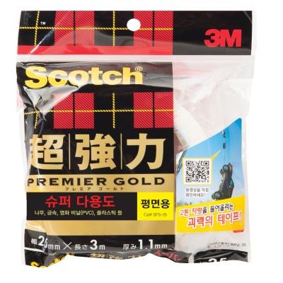 3M 스카치™ 초강력 폼 양면테이프 SPS-25