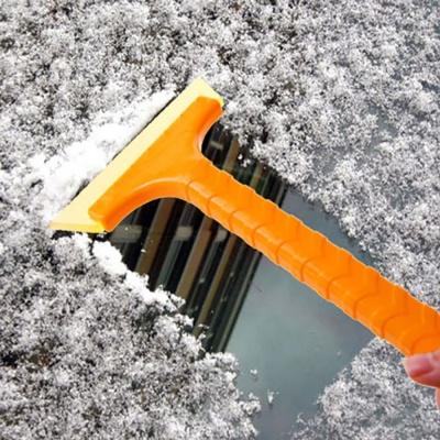 롱제설기 차량용 유리 눈 우레탄 성에제거기 청소