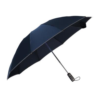 기프트 반사띠 완전자동 3단 우산 방풍 답례우산