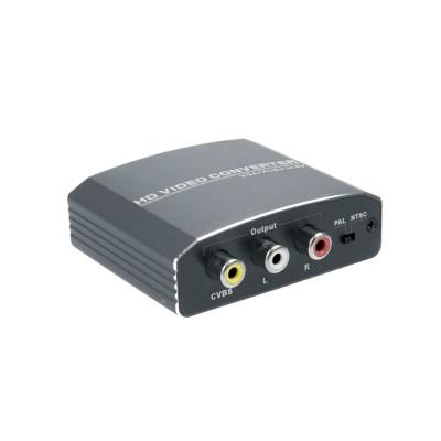 VGA to AV 변환기 컨버터 / 아날로그 영상 LCZH400