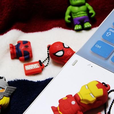 [트라이브] 마블 캐릭터 USB 메모리 (8G)