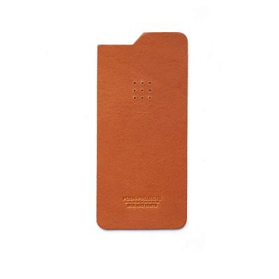 504 아이폰6 & 6플러스 가죽스킨 (rust)