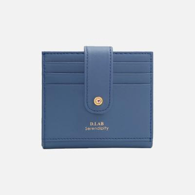 (탄생석지갑) Fiore Half Wallet - blue