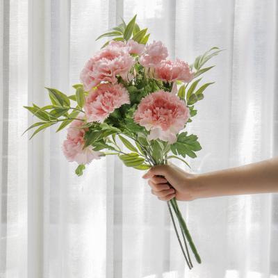 포홈 프릴카네이션 꽃다발 2color