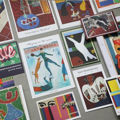 러프 포스터카드 13+2종 명화믹스C