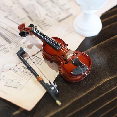 [콩지] 미니어쳐 바이올린