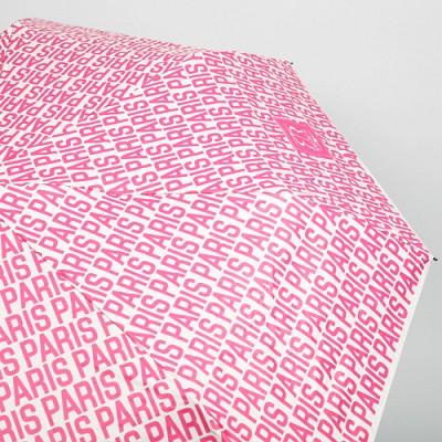 [4만마켓] 파리 타이포우산 핑크