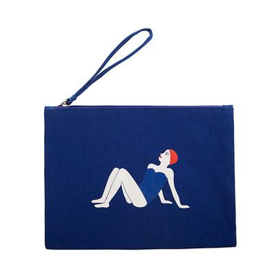 [kiitos]COSMETIC BAG - BLUE