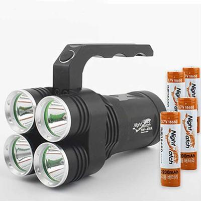 LED 써치라이트 세트 4E85L-224 손전등 8500루멘