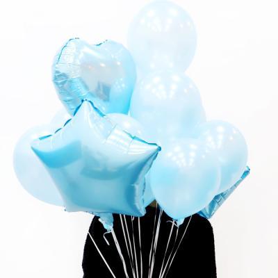 파티풍선세트 스타하트 (블루)