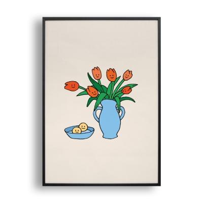 Tulips / 일러스트 액자