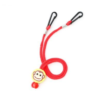 키즈 동물 캐릭터 마스크 스트랩 - 레드(Red)