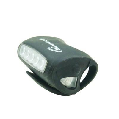 PH 자전거용 7 LED 실리콘 라이트(전조등 후미등)