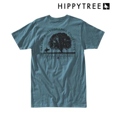 [히피트리] Oak Tee - Blue