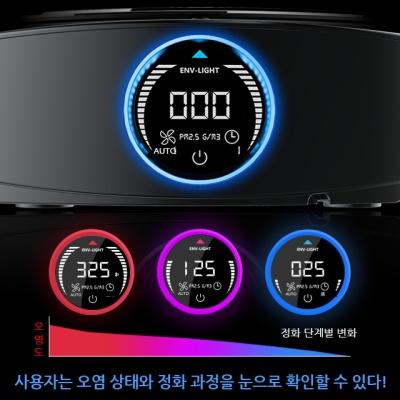빅서 S2 Pro 차량용 공기청정기 듀얼센서