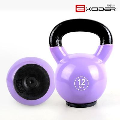 컬러 케틀벨 MD2201 12kg 케틀벨스윙/덤벨/아령/운동