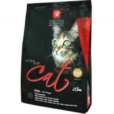 고양이 사료 밥 주식 캣츠 아이 1.5kg 10개 전연령