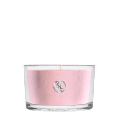 COLONIAL CANDLE 1915글래스 티라이트 캔들 분홍 벚꽃