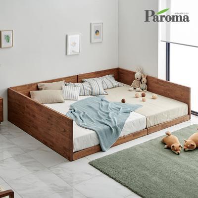 파로마 아이린 원목 가드형 패밀리침대 GS033