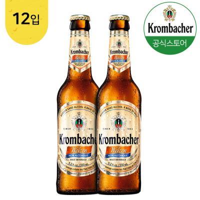 크롬바커 바이젠 논알콜 맥주맛 음료 330mlx12병