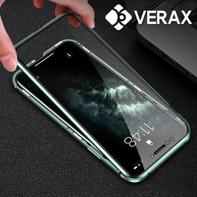 P496 아이폰11프로맥스 360도 강화글라스 케이스