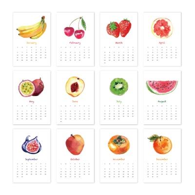 [2021 캘린더] Fruits