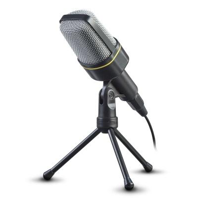 방송용 스탠드 마이크 / 1인방송 / 볼륨조절 CYVM-500