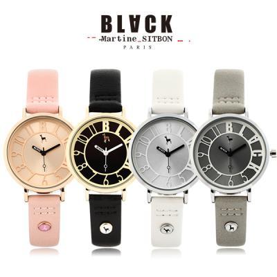 [블랙마틴싯봉] 여성 가죽 손목시계 BKL1526L