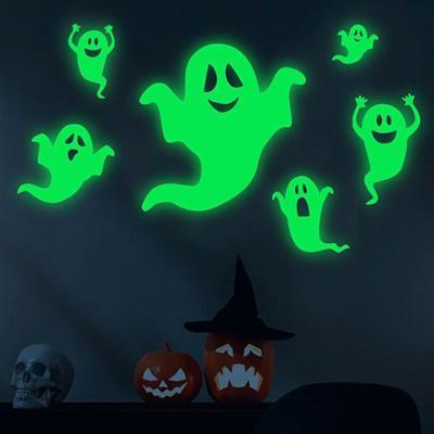 할로윈 유령 야광 스티커